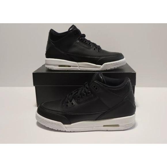 e5e9cf43c6f2 Nike Air Jordan 3 Retro BG Cyber Monday Black